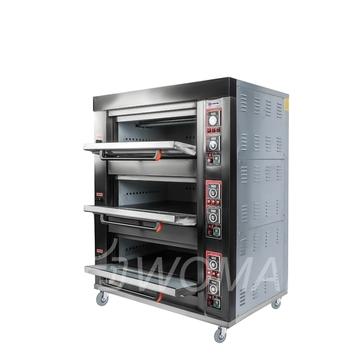 Печь подовая ярусная Miratek BK-36E (электрическая)