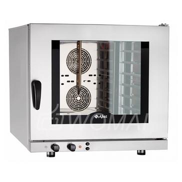 Конвекционная печь КЭП-6 (6 уровней 400х600 мм, камера-нерж, эл/механика, регул. влажности от 0% до 100%, без противней) вся нерж., Abat