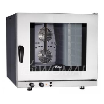 Конвекционная печь КЭП-6Э (6 уровней 400х600 мм, камера-эмаль, эл/механика, без противней) бок.стенки краш., Abat