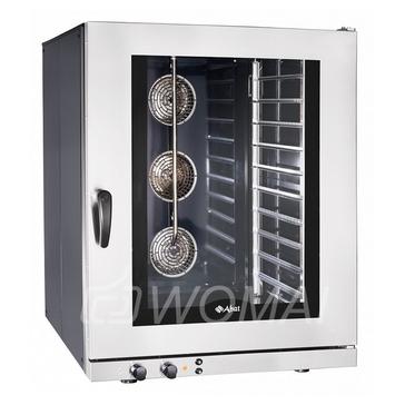 Конвекционная печь КЭП-10Э (10 уровней 400х600 мм, камера-эмаль, эл/механика, без противней) бок.стенки краш.