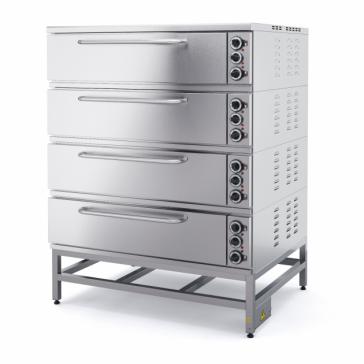 Шкаф пекарный электрический четырехсекционный ШПЭ104, Марихолодмаш