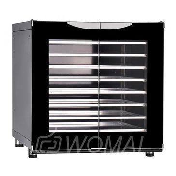 Шкаф расстоечный тепловой ШРТ-8Э (эмалированный, 8 уровней, 400*600,  под конвекц. печи, без противней), Abat