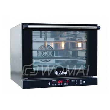 Конвекционная печь КПП-4П (4 уровня 460х330 мм, камера-нерж, программируемая, без противней) вся нерж., Abat