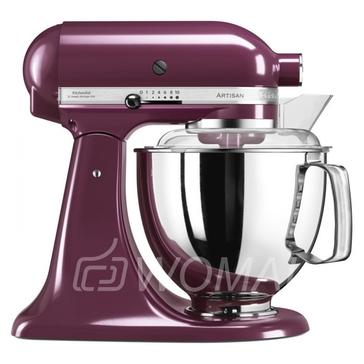 KitchenAid Миксер планетарный бытовой 5KSM175PSEBY, дежа 4.83л, 4 насадки, 2 чаши, фиолетовый