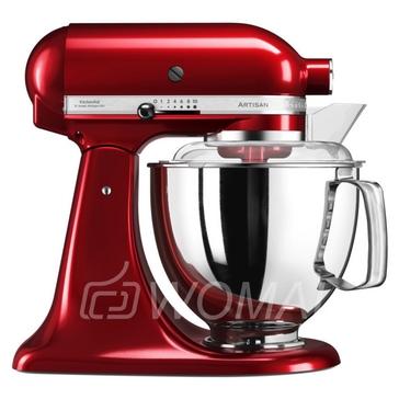 KitchenAid Миксер планетарный бытовой 5KSM175PSECA, дежа 4.83л, 4 насадки, 2 чаши, карамельное яблоко