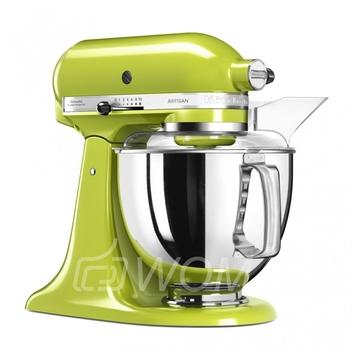 KitchenAid Миксер планетарный бытовой 5KSM175PSEGA, дежа 4.83л, 4 насадки, 2 чаши, зеленое яблоко