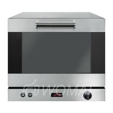 SMEG ALFA43XEH Конвекционная печь (функция пароувлажения, электронное управление, 40 программ приготовления, функция предварительного нагрева)