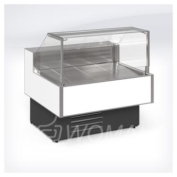 Cryspi Витрина холодильная универсальная Gamma Quadro SN 1500 LED с боковинами