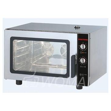 INOXTREND GUA-604EB Конвекционная печь с пароувлажнением, механическая панель управления