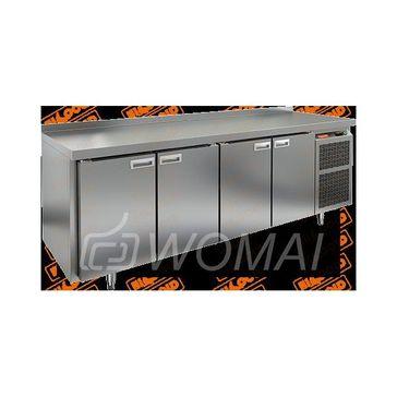 GN 1111/TN стол охл. (-2+10), 4 двери, 2280х700х850мм, HICOLD RUS