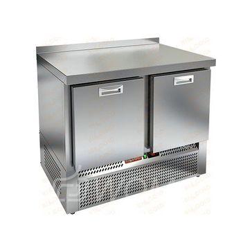 GNE 11/TN BOX стол охл. (-2+10), 2 выдвиж. секции, 1000х700х850мм, ниж.распол.агрегата, HICOLD RUS