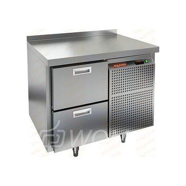 GN 2/TN стол охл.(-2+10), 2 ящика, 900х700х850мм, HICOLD RUS