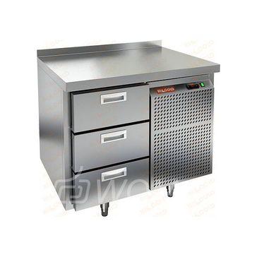 GN 3/TN стол охл.(-2+10), 3 ящика, 900х700х850мм, HICOLD RUS