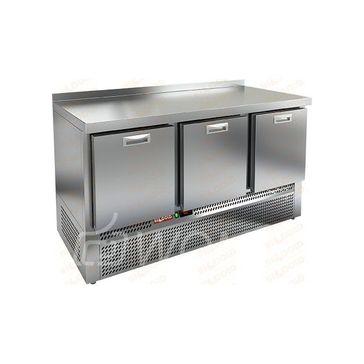 GNE 111/BT BOX стол охл. (-10-18), 3 выдвиж. секции, 1485х700х850мм, ниж.распол.агрегата, HICOLD RUS