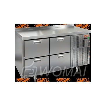 BN 22/TN стол охл (-2+10), 4 ящика, 1390х500х850мм, HICOLD RUS