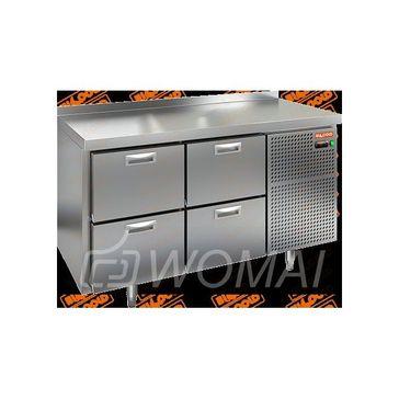 BN 22/BT стол охл. (-10-18), 4 ящика, 1390х500х850мм, HICOLD RUS