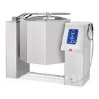 Котел пищеварочный опрокидывающийся КПЭМ-160 О без миксера (160 л, 120 °С, пар. рубашка, програм. управление)