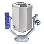 Котел пищеварочный КПЭМ-60-ОМР, нижний привод миксера (60 л, 100 °С, пар. рубашка, ручное опрокидывание, цельнотянутый)