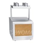 Прилавок для столовых приборов и подносов ПСП-70Х