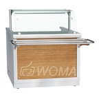Прилавок-мармит электрический 1-х блюд ПМЭС-70Х