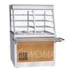 Прилавок-витрина холодильный ПВВ(Н)-70Х-С-НШ