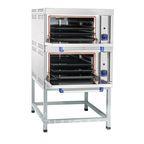 Шкаф жарочный газовый ШЖГ-2, краш.подставка, эмалированная духовка, 840х935х1500мм, Abat