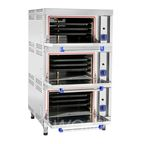 Шкаф жарочный газовый ШЖГ-3 краш.подставка, эмалир.духовка, 840*935*1500мм