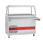 Прилавок-витрина холодильный ПВВ(Н)-70КМ-НШ