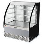 Витрина холодильная Veneto VSо-1,3, нержавейка (открытая)