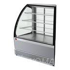 Витрина холодильная Veneto VS-UN, нерж. (угол наружный), раздвижная дверь