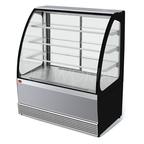 Витрина холодильная Veneto VS-1,3, нержавейка new