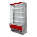 Витрина холодильная Флоренция ВХСп-1,2 (красная)