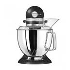 KitchenAid Миксер планетарный бытовой 5KSM175PSEBK, дежа 4.83л, 4 насадки, 2 чаши, чугун