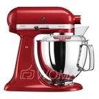 KitchenAid Миксер планетарный бытовой 5KSM175PSEER, дежа 4.83л, 4 насадки, 2 чаши, красный