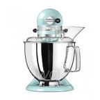 KitchenAid Миксер планетарный бытовой 5KSM175PSEIC, дежа 4.83л, 4 насадки, 2 чаши, голубой
