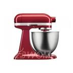 KitchenAid Миксер планетарный бытовой MINI 5KSM3311XEER, дежа 3,3л, 3 насадки, 1 чаша, красный