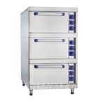 Шкаф жарочный ШЖЭ-3 (лицо нерж.) стандартная духовка