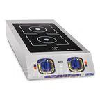 Плита индукционная 2-х конфорочная КИП-2Н, Abat