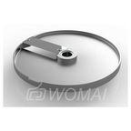 Диск для нарезки ломтиками 10 мм (алюминий+нерж.) для МКО-50
