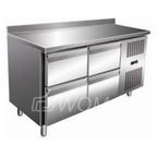 Стол с охлаждаемым шкафом COOLEQ GN2240TN бортик 4 ящика