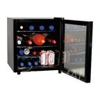 Шкаф холодильный со стеклом COOLEQ TBC-46 ЧЕРНЫЙ