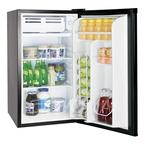 Шкаф холодильный с глухой дверью COOLEQ TBC-90S ЧЕРНЫЙ