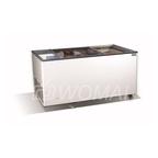 Морозильная бонета с прямыми стеклянными раздвижными створками CRISTALLITE 15
