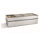 Морозильная бонета с прямыми стеклянными раздвижными створками CRISTALLITE 25
