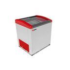 Морозильник горизонтальный GELLAR FG 250 E (FG 200 E) красный