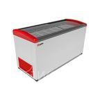 Морозильник горизонтальный GELLAR FG 600 E красный