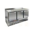 SNE 111/TN стол охл.(-2+10), 3 двери, 1485х600х850мм, ниж.распол.агрегата, HICOLD RUS