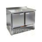 SNE 11/BT стол охл.(-10-18), 2 двери, 1000х600х850мм, ниж.распол.агрегата, HICOLD RUS