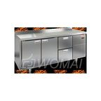 GN 112/TN стол охл.(-2+10), 2 двери,2 ящика, 1835х700х850мм, HICOLD RUS