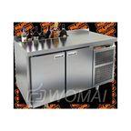 GN 11 HT V стол охл. (-2+10), 2 двери, с ванной для льда под бутылки, 1390х700х850мм, HICOLD RUS